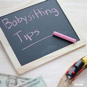 Ways To Earn Money As A Kid Babysitting Tips How To Make Money As A Kid Babysitting
