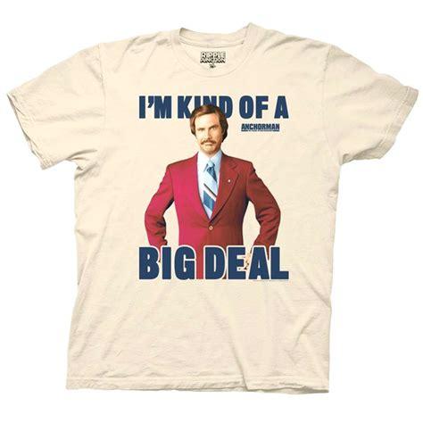 Anchorman I L Shirt anchorman shirt quot i m of a big deal quot gaggifts