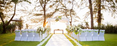 wedding hotel phuket beach wedding venues renaissance