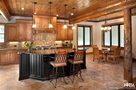 log cabin kitchen nkba