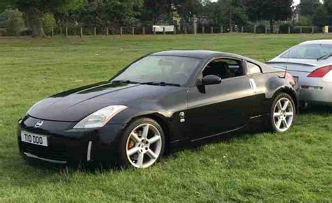 Nissan 350z 2005 (05) Black Gt. Car For Sale