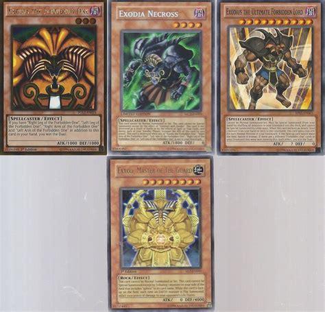 yugioh exodia deck ebay yugioh exodia set exodia the forbidden one exodia