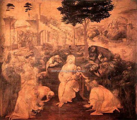 da vinci köln adoration of the magi 32 by leonardo da vinci painting id dv 2132 ka