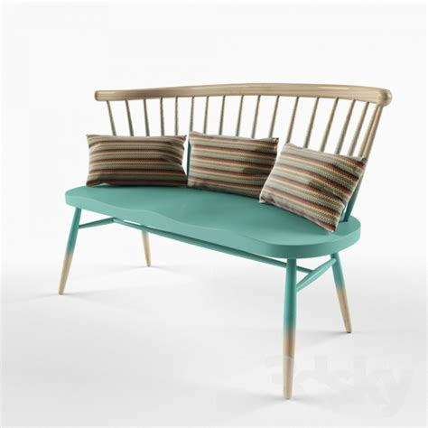 Ercol Loveseat by 3d Models Other Ercol Seat