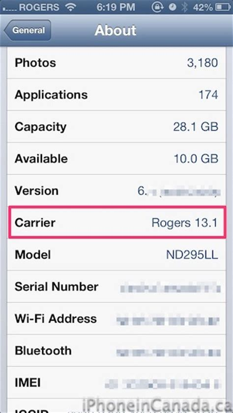 what is carrier settings update on iphone rogers releases 13 1 carrier settings update for iphone