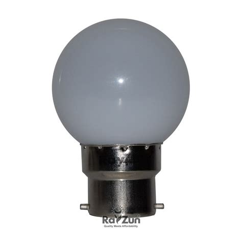rayzun 0 5 watt led l bulb white