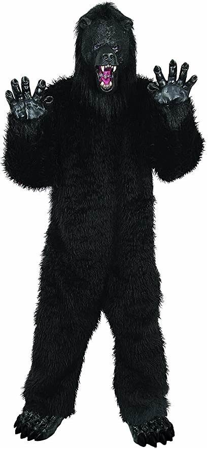 Bear Grizzly Gorilla Seasons Deluxe Costume