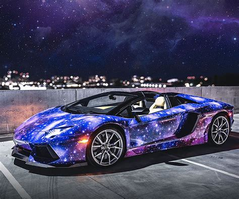 lamborghini custom paint galaxy paint job lamborghini