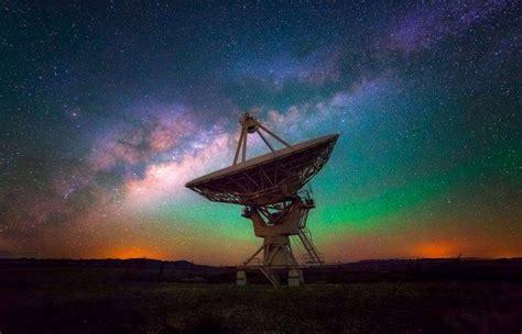 Landscape Nature Milky Way Observatory Starry Night