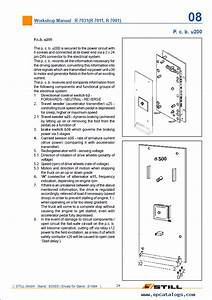 Still Forklift R70 16 Workshop Manual Pdf