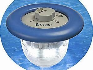Lumiere Piscine Hors Sol : lampe flottante bleue intex 96 led pour piscine sur ~ Dailycaller-alerts.com Idées de Décoration