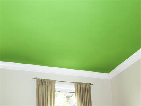 Paint A Bold Color On Your Ceiling