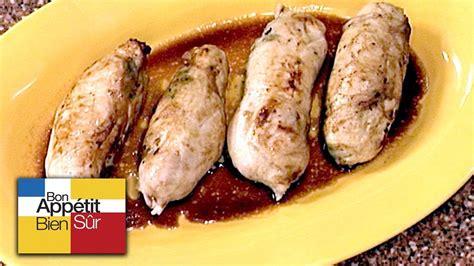 livre de cuisine gastronomique recette suprêmes de pintade farcis au pied de cochon