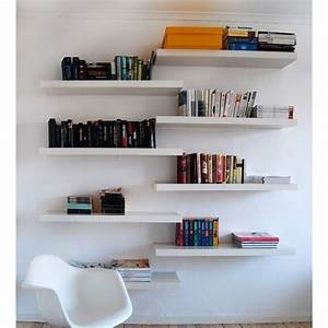 Ikea Lack Floating Wall Shelf White | eBay