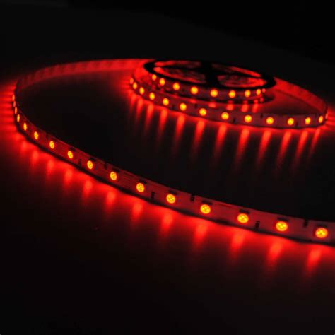 red led light strip led strip 5050 60 led m red per 50cm buyledstrip com