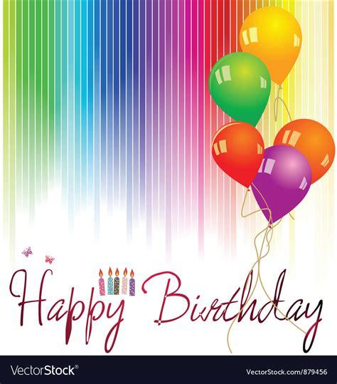 happy birthday background royalty  vector image