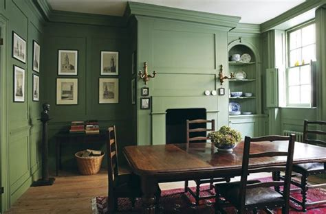 olive green everything living room green dining room