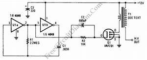 high voltage generator with hex fet circuit wiring diagrams With ticking bomb sound circuit diagram youtube