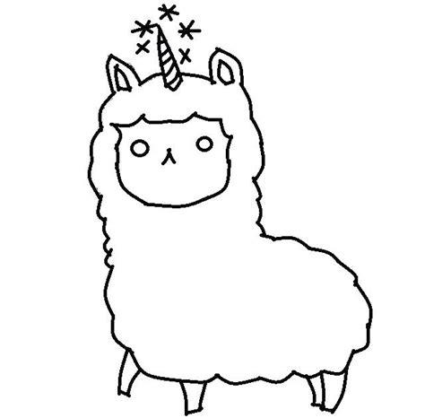 llama drawing    ayoqq cliparts