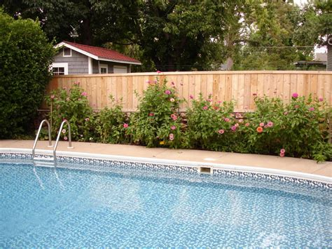 privacy pool fencing pool fence 417 862 5115 w bar y fence fence company in springfield missouri