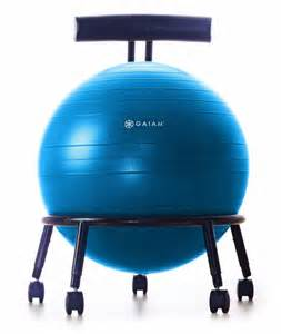 amazon com gaiam custom fit adjustable balance ball