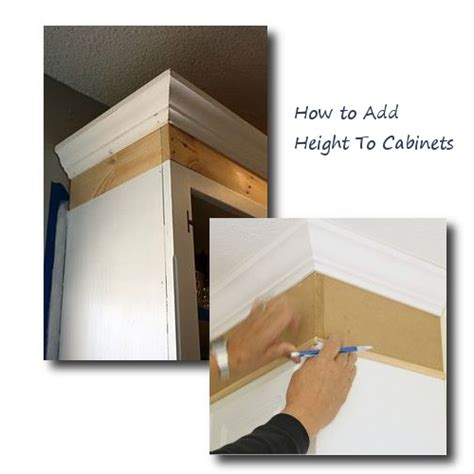 adding height to kitchen cabinets buying secondhand cabinets yay or nay 7407