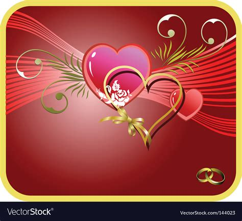 wedding greeting card royalty  vector image
