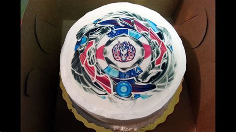 beyblade zankyes anniversary cake  celebration april