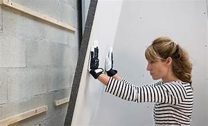 Isoler Une Porte Du Bruit : pose de plaques isolantes en polystyr ne graphit ~ Dailycaller-alerts.com Idées de Décoration