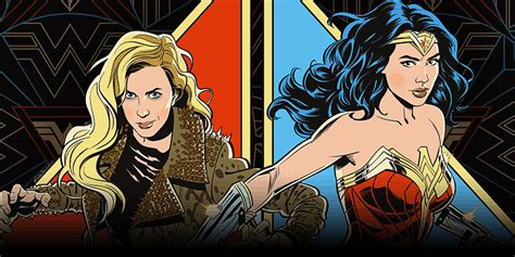 Dropped the latest trailer for wonder woman 1984 today during the dc fandome online event, giving us our first real look at kristen wiig's villainous cheetah. Wonder Woman 1984 Promo Art (With Cheetah) Is a Perfect ...