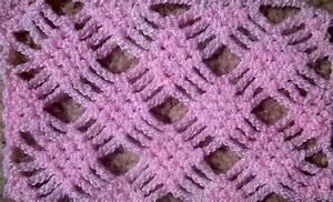 Crochet Patterns - DIAMOND CHECKERS CROCHET STITCH ...