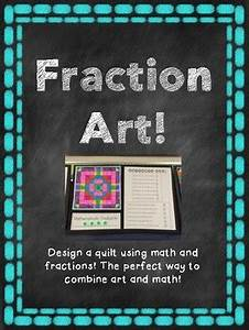 Equivalent Fraction Art Project By Kemcreations
