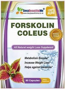 Forskolin Weight Loss Pills - Fat Burner And Metabolism Booster