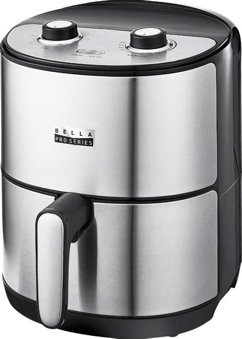 air fryer stainless steel analog qt bella series fryers appliances deep kitchen
