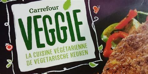 cuisiner viande carrefour lance sa marque de produits végétariens vegan