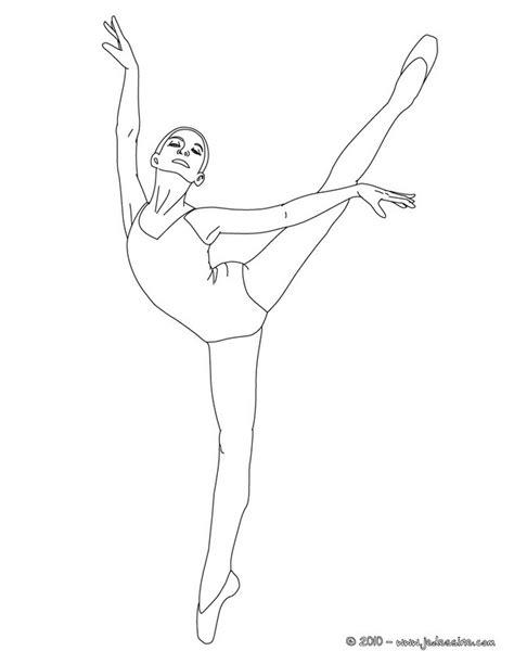 dessin de danseuse moderne jazz coloriages de danse 224 imprimer fr hellokids