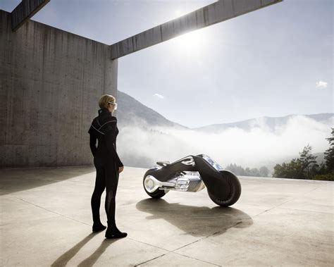 Wallpaper Bmw Motorrad Vision Next 100 Future Bike
