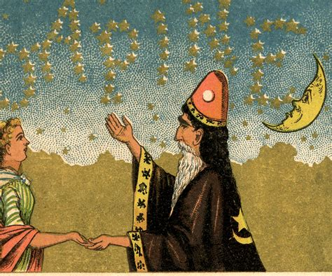 Vintage Wizard Image! - The Graphics Fairy