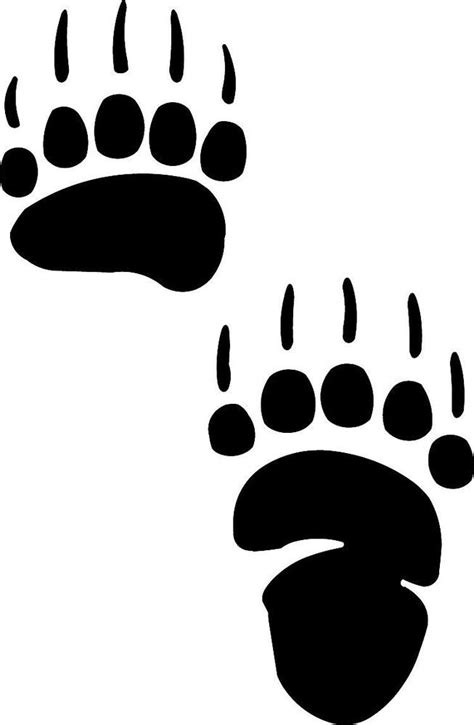 33 Best Images About Bear Paw Tattoos On Pinterest