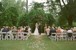 garden wedding pretty garden wedding once wed