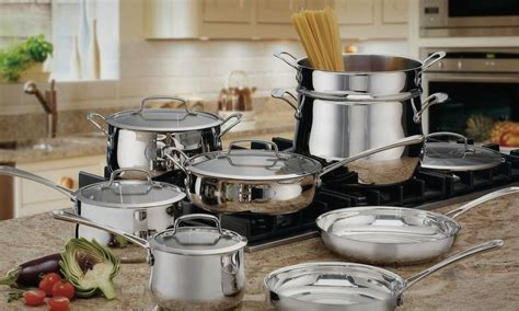 stainless steel cookware pots  pans list  top rated