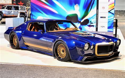 sema show  las vegas american muscle cars