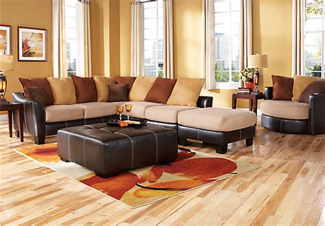 rooms to go sofas and sectionals suttons bay beige 4 pc sectional living room living room