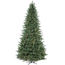Ge Fraser Fir Pre Lit Christmas Tree by Top 7 Artificial Christmas Trees Ebay