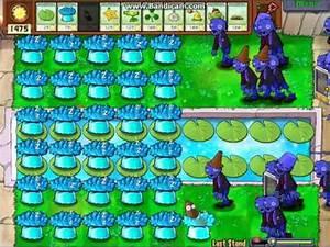 Plants Vs Zombies Ice Shroom Madness! - YouTube