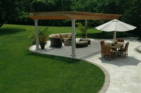 are you thinking about travertine for your new patio