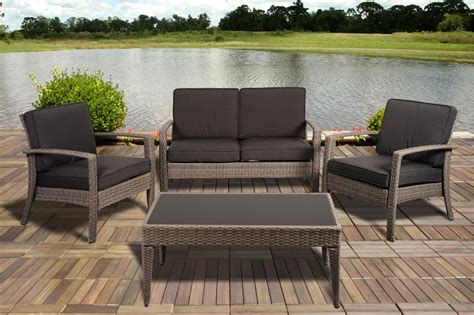 grey wicker outdoor furniture sears