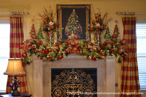 christmas mantel images kristen s creations my christmas mantle