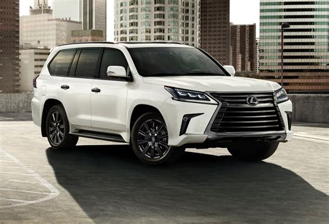 Lexus Updates LX 570 Luxury SUV With New Options ...