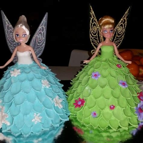 foto de Tinkerbell and periwinkle cake for my daughter Fairy